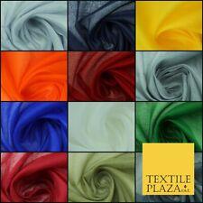 "Plain Weave 100% COTTON MUSLIN MALMAL Soft Fabric Material F74 ALL COLOURS 44"""