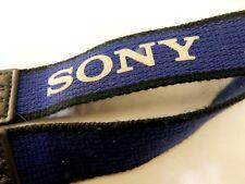 Sony Camcorder Camera Neck Shoulder Strap Genuine Blue Gray