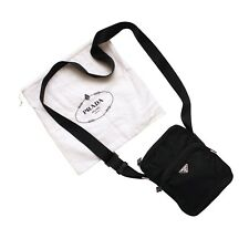 Prada Shoulder Bag Black Nylon Vela Crossbody Messanger