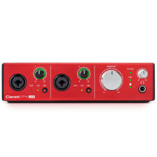 Focusrite Clarett 2 Pre USB 10-in 4-out Audio Interface for PC and Mac, New!