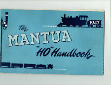 "MANTUA METAL PRODUCTS 1947 ""HO HANDBOOK"""