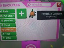 Pumpkin Carriage Adopt Me Roblox