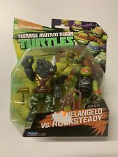 Teenage Mutant Ninja Turtles - Michelangelo Vs Rocksteady - Nickelodeon