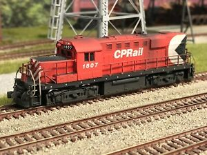 Custom Atlas CP Rail RS18u, DCC, Ditch Lights, Detailed, Weathered, IOB!