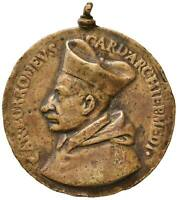 s918) S. Carlo Borromeo (1564-1631) - Medaglia - Allegoria ø= 52