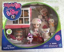 Littlest Pet Shop #B24#2109#2110 Sochi Moscow Husky Blythe Doll