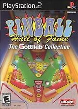 Pinball Hall of Fame: The Gottlieb Collection (Sony PlayStation 2, 2004)M