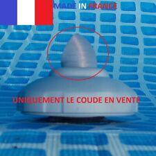 Coude courant circulaire pour crépine 32mm piscine INTEX