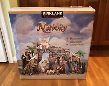 Rare Kirkland Christmas Nativity Set Large Creche de Noel #224739 Costco Holiday