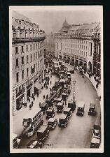 LONDON Regent Street Busy 1930s? Street Scene RP PPC