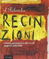 Il Palomba Recinzioni e altri scritti -Johnny Palomba - Libro nuovo in offerta !