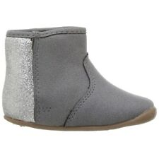 NEW Carters Amylene SG Grey Boots Stage 2 Stand Shoe Baby Size 4 9-12 Months