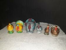 Lot Turkey Salt And Pepper Shakers