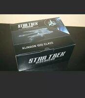 Star Trek Klingon Qoj Class warship XL Issue #10 Discovery Season 1 Eaglemoss