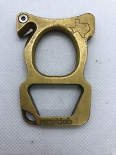 Rootlab Exeo - Solid Brass Escape Tool - Window Breaker - Seat Belt Cutter