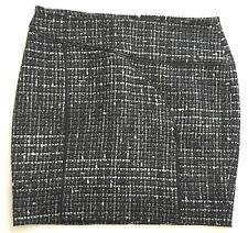Bebe Mini Skirt Women's Mini Black Gray White Casual Career 6 S