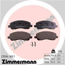1x Bremsbelagsatz  Scheibenbremse ZIMMERMANN 23584.160.1