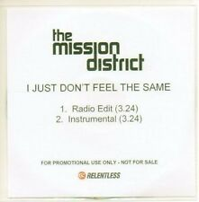 (AC45) The Mission District, I Just Don't Feel... DJ CD