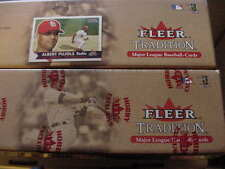 2001 FLEER TRADITION Complete FACTORY SET Sealed/Unopened ALBERT PUJOLS RC