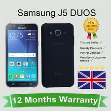 Sbloccato Samsung Galaxy J5 (J500) Dual Sim Android Telefono Cellulare - 16GB Nero
