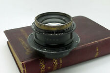 "Vintage Ross f6.3 234mm Zeiss Patent Anastigmat lens Pre Protar 10x8 16.5"" pair"