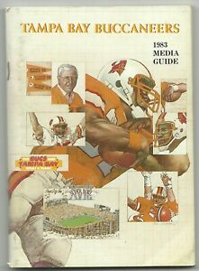 1983 Tampa Bay Buccaneers Media Guides Press Guides Facts Books