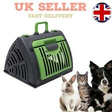 More details for heavy duty collapsible pet carrier | cats, dogs, rabbits | travel carrier
