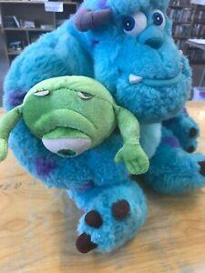 "Disney Pixar Monsters Inc. 13"" Sully and 7"" Mike Wazowski Plush Best Buds"