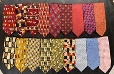 Vintage Ermenegildo Zegna 100% Silk Ties