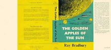 Ray Bradbury GOLDEN APPLES OF THE SUN facsimile dust jacket for first UK book