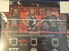 WWE The Shield Reunites Limited Edition Brand NEW Commemorative Plaque 271/500