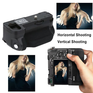 Meike Vertical Battery Grip for Sony a6300/a6000 DSLR Camera Replacement Black