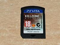 Killzone Mercenary PSVita Playstation Vita UK Game (Cart Only) **FREE UK POST**