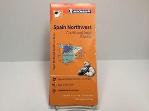 Michelin Folding Road Map of Spain Northwest (Castile & Leon Madrid)