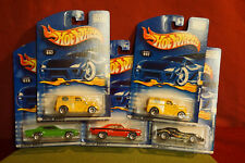 1:64 Scale diecast Hot Wheels Lot of 5