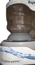 LeBistro by Aspen Pet- 2.5 gallon Gravity Waterer Gray BPA Free NEW Spill Resist