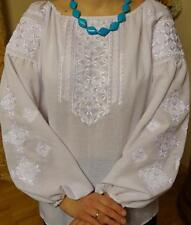 Ukrainian embroidery, embroidered blouse,cotton, XS-4XL, Ukraine