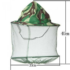 Mosquito Resistance Bug Insect Bee Net Mesh Head Face Protector Cap Hat