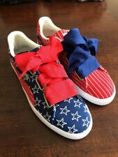 Womens Patriotic PUMA 4th Of July American Sneakers Shoes Size 9 New!