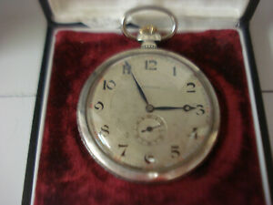 Longines pocket watch in Silver 0.800 all original caliber 12.91  L.4710221