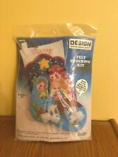 NEW Design Works Crafts #5013 NATIVITY STOCKING Felt Stocking Kit