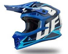 UFO Intrepid Motocross Helmet Blue, Medium (57 - 58cm)