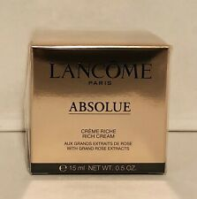 Lancome Absolue Rich Cream 15ml Travel Size New In Box & Sealed