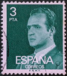 Stamp Spain SG2396 1976 3Pta King Juan Carlos I Used
