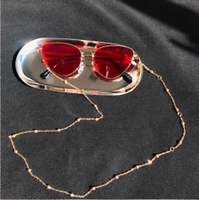 Womens Eyeglass Chains Sunglasses Reading Beaded Glasses Chain Eyewears Cord Hol
