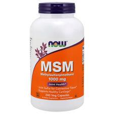 MSM, 1000mg x  240 Veg Capsules - NOW Foods