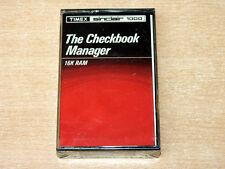 * mint & sealed * SINCLAIR ZX81 / Timex 1000-Le gestionnaire chéquier par timex