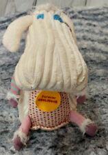 "Original Les Deglingos Poilodos Sheep Plush Lamb Forever Stuffed Cream 10"""