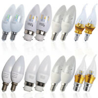 12 / 6x 3W 5W 6W 8W E14 E27 B22 B15 LED Candle Light Bulbs Spot light Globe Lamp