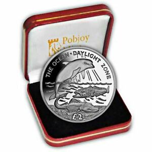 South Georgia 2016 Daylight Zone Proof Silver Coin